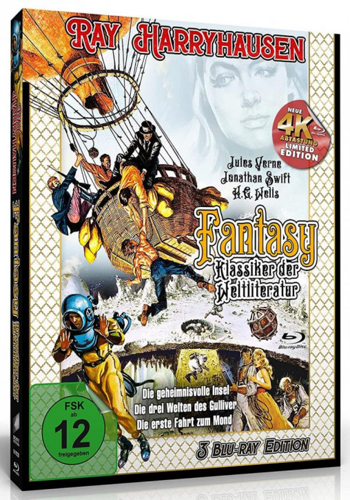 Ray Harryhausen - Fantasy Klassiker der Weltliteratur [Blu-ray]