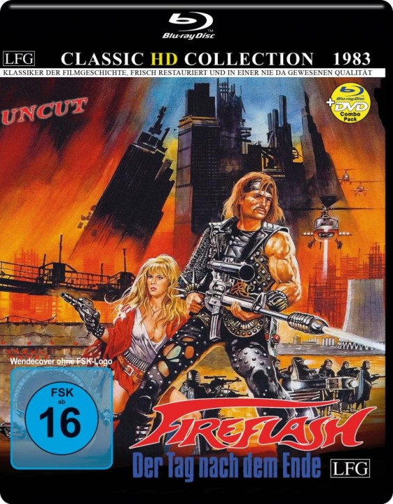 Fireflash (Classic HD Collection #7) [Blu-ray]