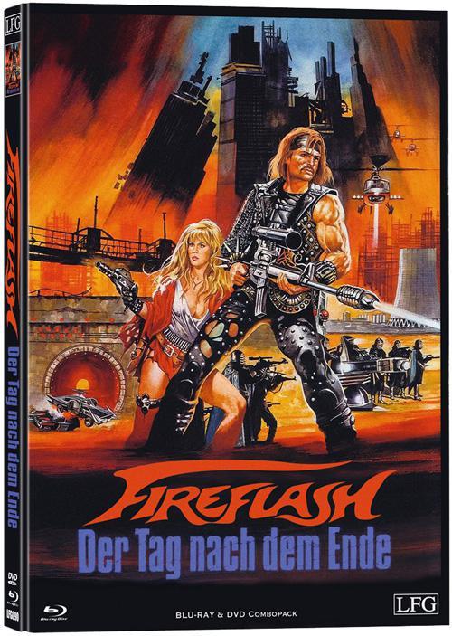 Fireflash - Mediabook - Cover A [Blu-ray+DVD]
