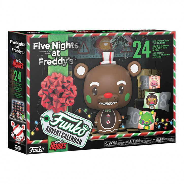 Five Nights at Freddy's Pocket POP! - Adventskalender - Blacklight