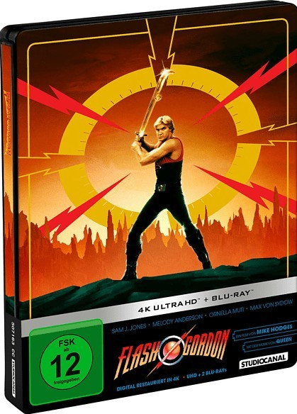 Flash Gordon (Steelbook) [4K UHD+Blu-ray]