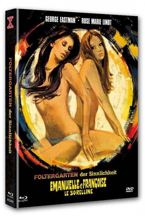 Foltergarten der Sinnlichkeit 1 - Eurocult Collection #047 - Mediabook - Cover C [Blu-ray+DVD]