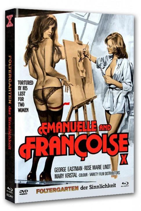 Foltergarten der Sinnlichkeit 1 - Eurocult Collection #047 - Mediabook - Cover D [Blu-ray+DVD]