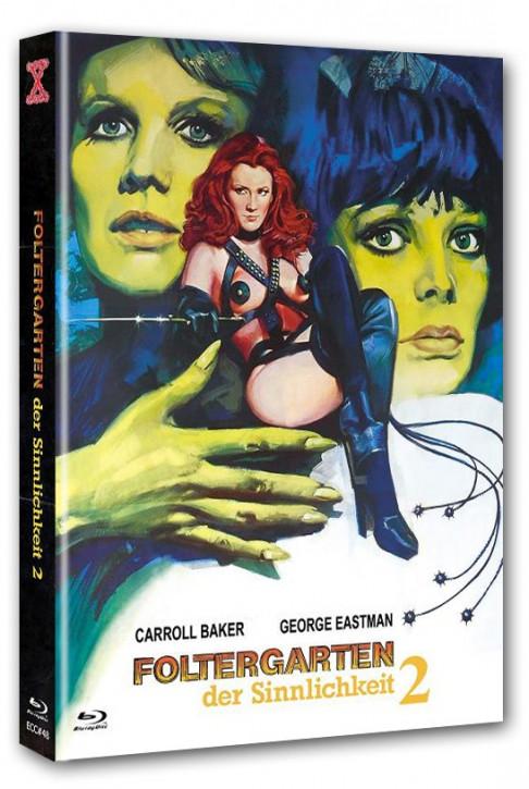 Foltergarten der Sinnlichkeit 2 - Eurocult Collection #048 - Mediabook - Cover B [Blu-ray+DVD]