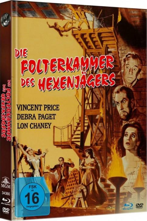 Folterkammer des Hexenjägers - Limited Mediabook Edition - [Blu-ray+DVD]