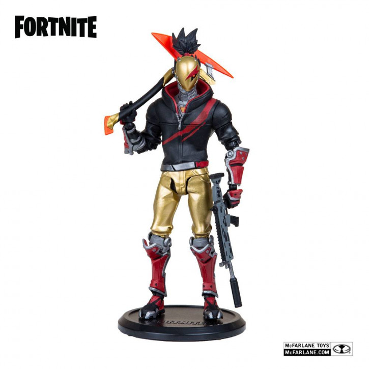 Fortnite Actionfigur - Red Strike Day & Date
