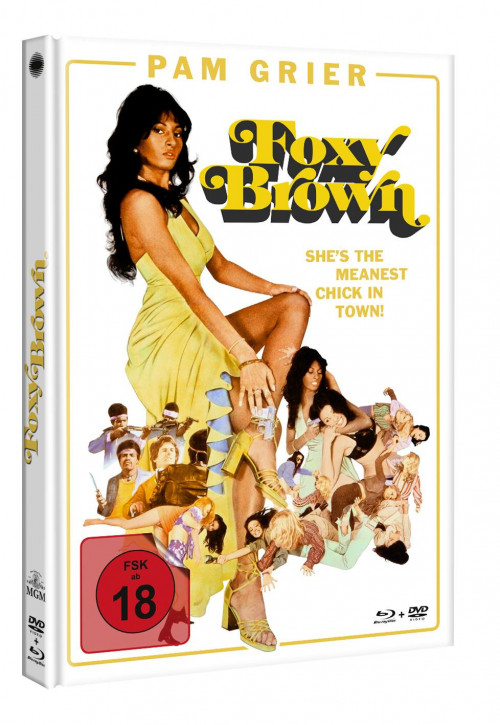 Foxy Brown - Limited Mediabook Edition [Blu-ray]