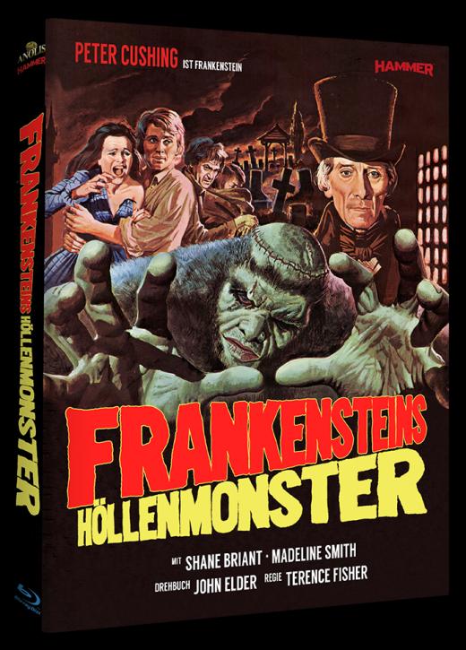 Frankensteins Höllenmonster - Hammer Edition Nr. 12 [Blu-ray]