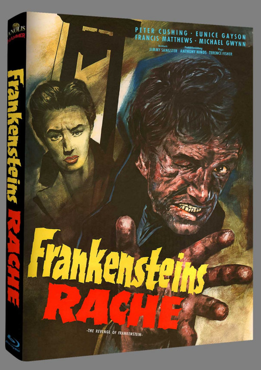 Frankensteins Rache - Hammer Edition Nr. 32 - Cover A [Blu-ray]