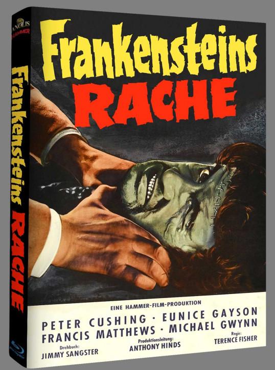 Frankensteins Rache - Hammer Edition Nr. 32 - Cover B [Blu-ray]