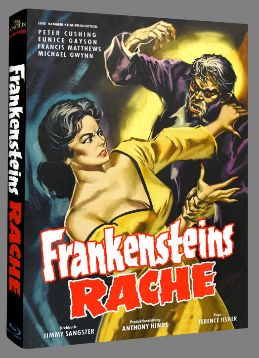 Frankensteins Rache - Hammer Edition Nr. 32 - Cover C [Blu-ray]