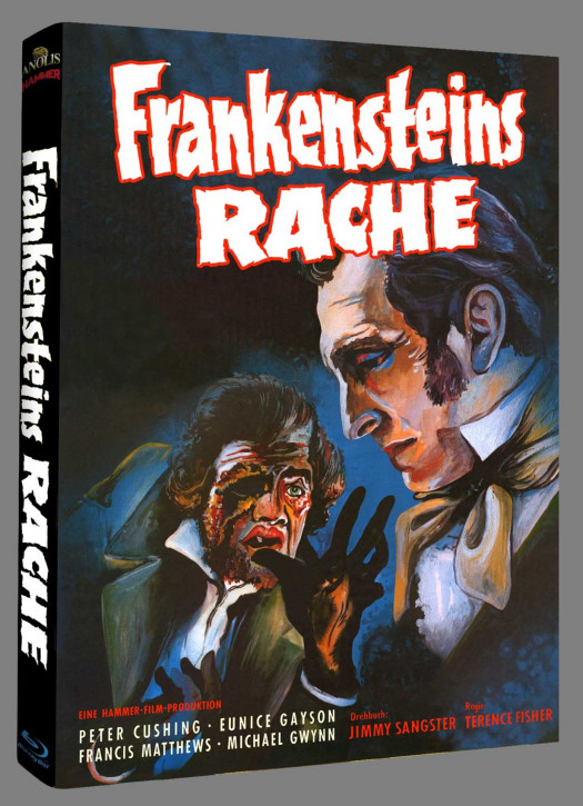 Frankensteins Rache - Hammer Edition Nr. 32 - Cover D [Blu-ray]