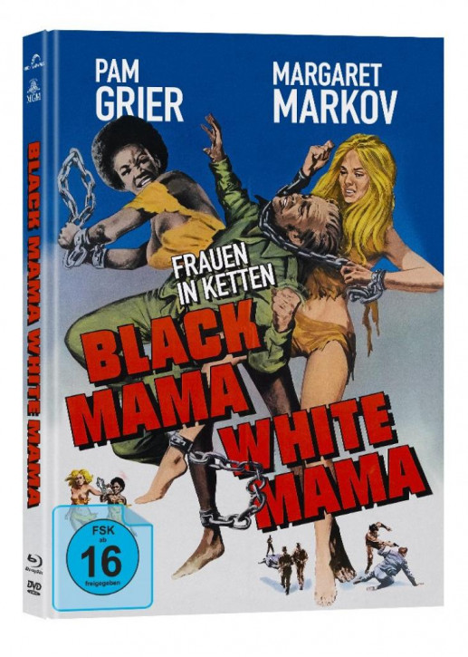 Frauen in Ketten - Mediabook Edition - Cover A [Blu-ray+DVD]