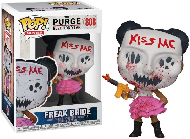 FunKo POP! Movies: The Purge - Freak Bride - Pop Vinyl Figure 808