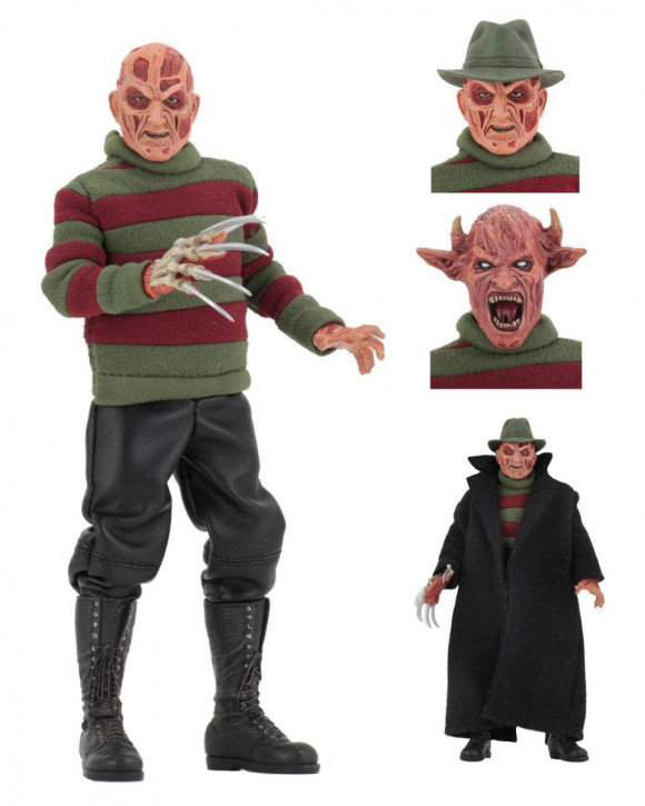 Freddy's New Nightmare - Retro Actionfigur - Freddy Krueger