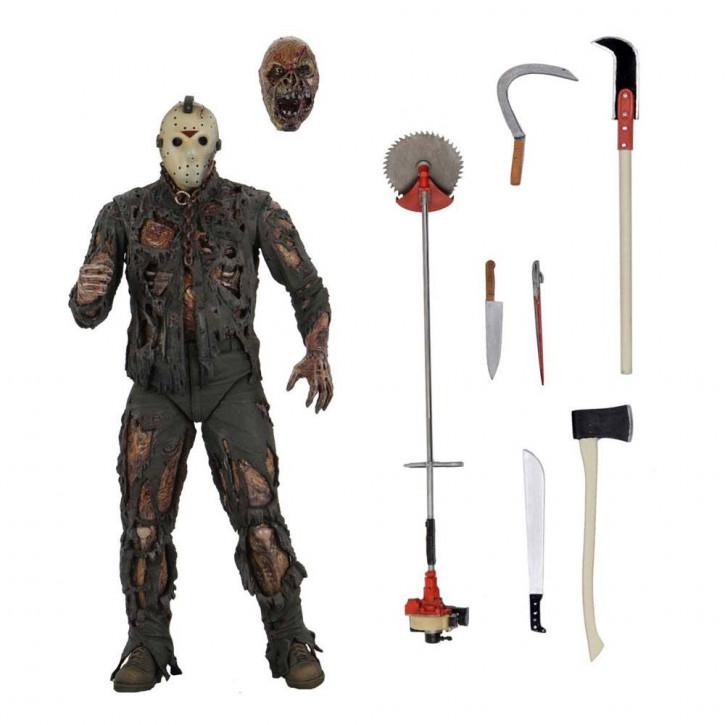 Freitag der 13. Teil 7 - Actionfigur Ultimate - Jason