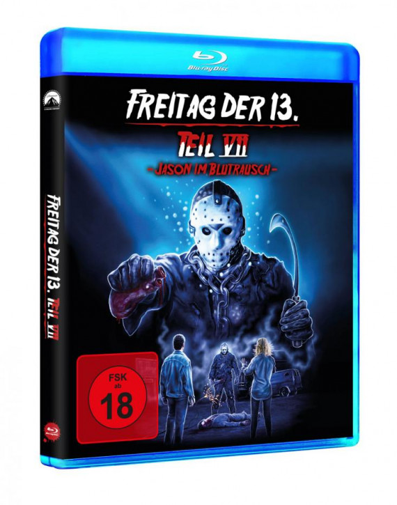 Freitag der 13. - Teil 7 - Jason im Blutrausch [Blu-ray]