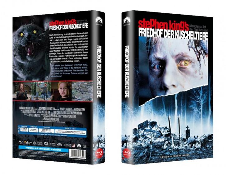 Friedhof der Kuscheltiere - große Hartbox - Cover A [Blu-ray]