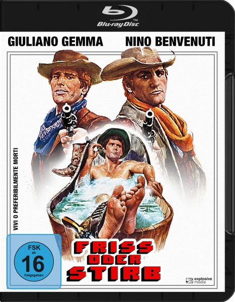 Friss oder stirb [Blu-ray]