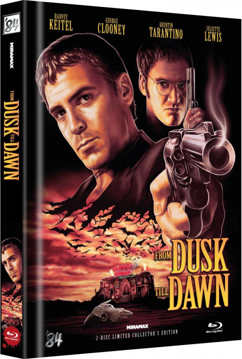 From Dusk Till Dawn - Limited Collector's Edition - Cover A [Blu-ray]