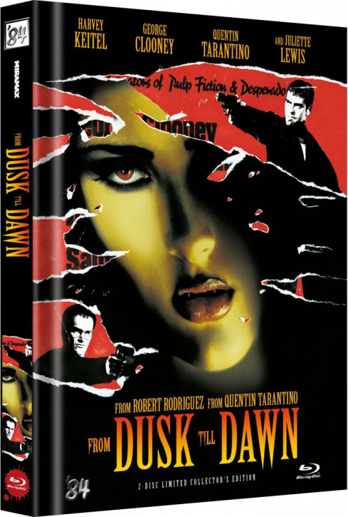 From Dusk Till Dawn - Limited Collector's Edition - Cover B [Blu-ray]