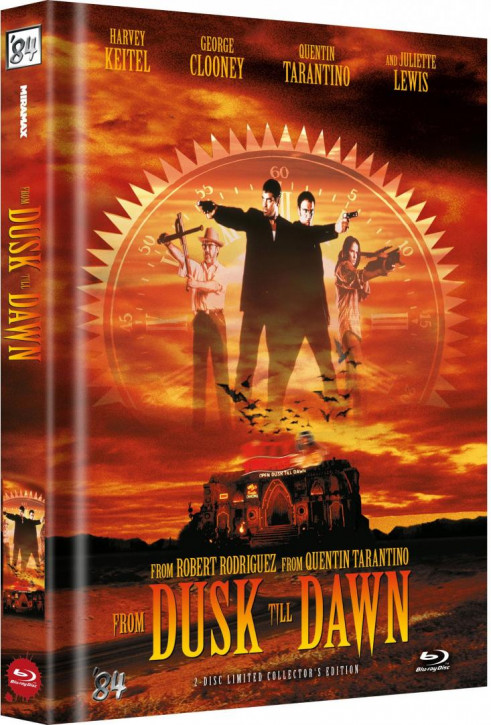 From Dusk Till Dawn - Limited Collector's Edition - Cover C [Blu-ray]