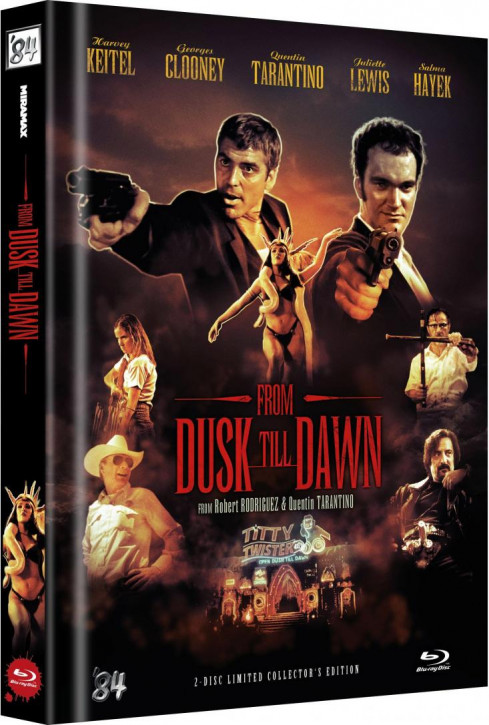 From Dusk Till Dawn - Limited Collector's Edition - Cover D [Blu-ray]