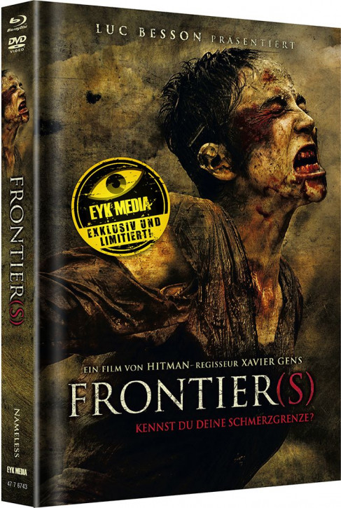 Frontiers - Limited Mediabook - Cover A [Blu-ray+DVD]