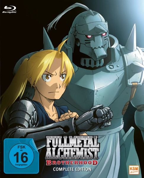 Fullmetal Alchemist: Brotherhood - Die komplette Serie [Blu-ray]