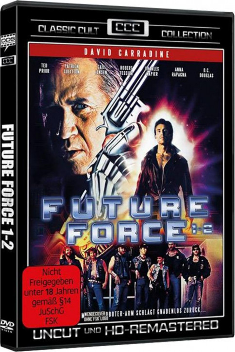 Future Force 1+2 (Classic Cult Collection) [DVD]
