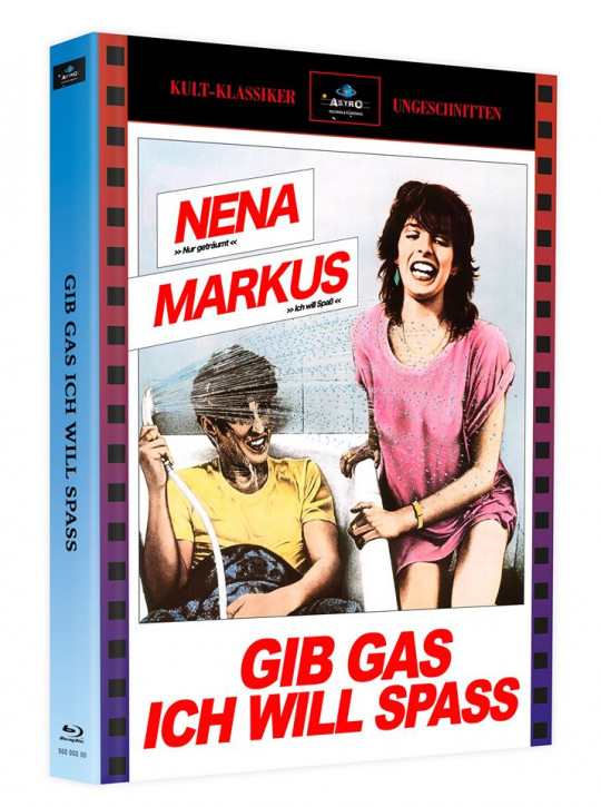 Gib Gas, Ich will Spass - Mediabook - Cover A [Blu-ray]