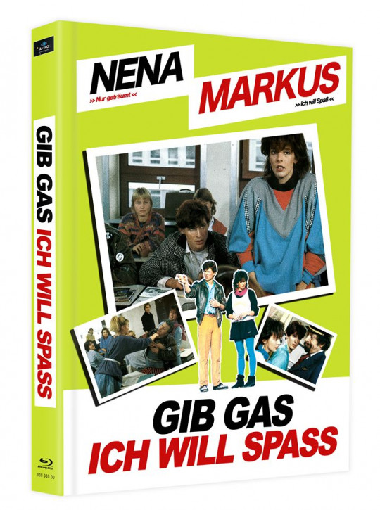 Gib Gas, Ich will Spass - Mediabook - Cover D [Blu-ray]