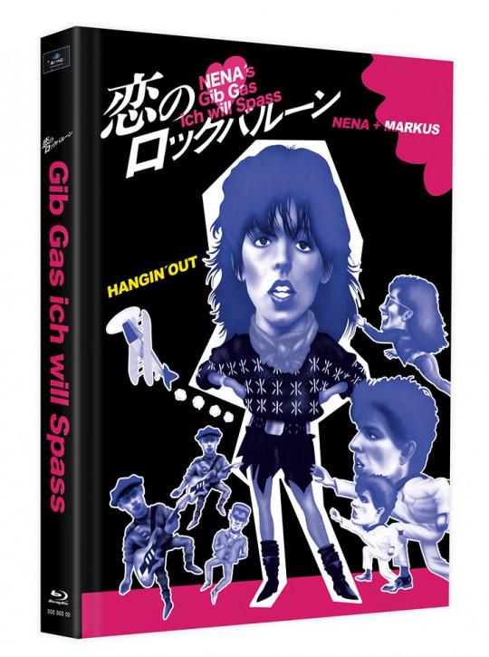 Gib Gas, Ich will Spass - Mediabook - Cover F [Blu-ray]