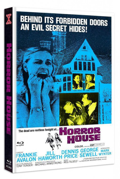 Gänsehaut - The Haunted House of Horror - Eurocult Collection #064 - Mediabook - Cover A [Blu-ray+DVD]