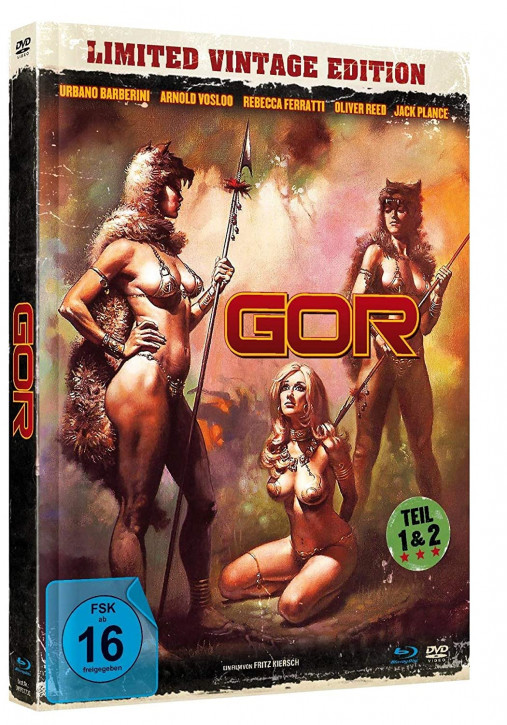 GOR 1+2 - Limited Mediabook Edition [Blu-ray+DVD]