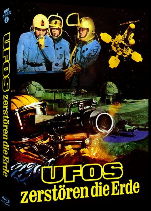 Ufos zestören die Erde - Phantastische Filmklassiker Folge Nr. 10 - Cover A [Blu-ray]
