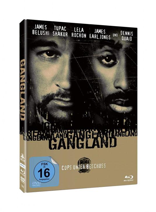 Gangland - Cops Unter Beschuss - Mediabook [Blu-ray+DVD]