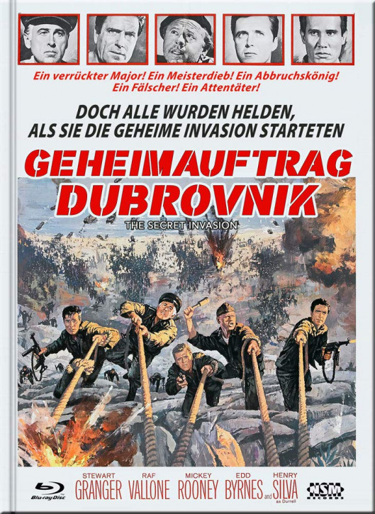Geheimauftrag Dubrovnik (The Secret Invasion) - Limited Collector's Edition - Cover D [Blu-ray+DVD]