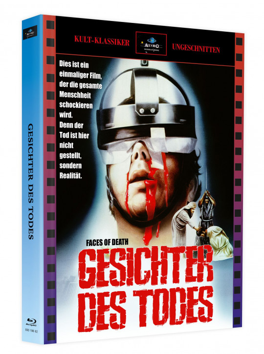 Gesichter des Todes (Faces of Death) - Mediabook - Cover A [Blu-ray+DVD]
