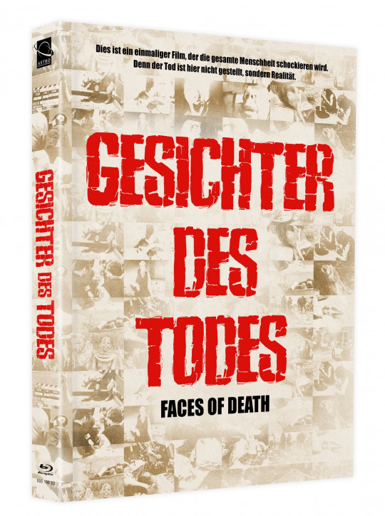 Gesichter des Todes (Faces of Death) - Mediabook - Cover B [Blu-ray+DVD]
