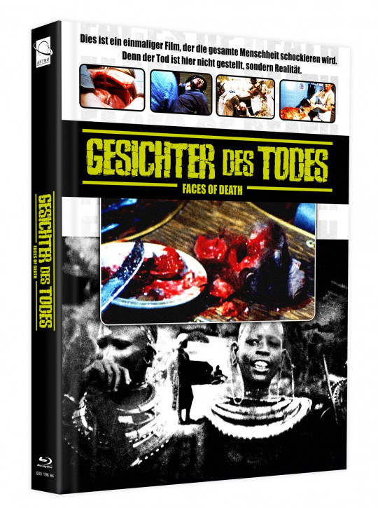 Gesichter des Todes (Faces of Death) - Mediabook - Cover C [Blu-ray+DVD]