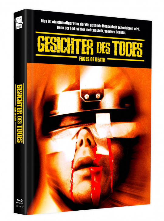 Gesichter des Todes (Faces of Death) - Mediabook - Cover F [Blu-ray+DVD]