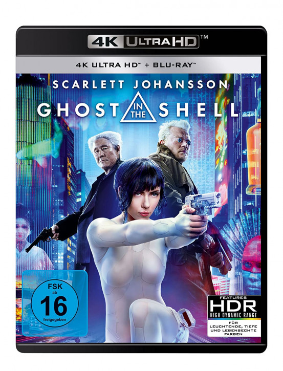 Ghost in the Shell [4K UHD+Blu-ray]
