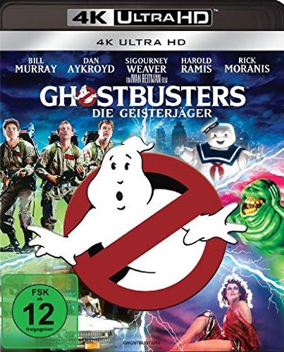 Ghostbusters [4K UHD Blu-ray]