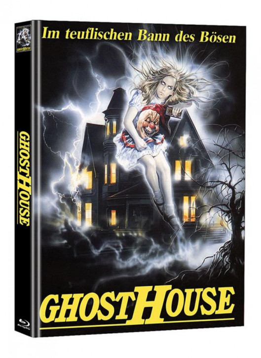 Ghosthouse - Limited Mediabook Edition  (Super Spooky Stories #122) [Blu-ray]