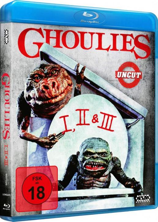 Ghoulies 1 - 3 [Blu-ray]