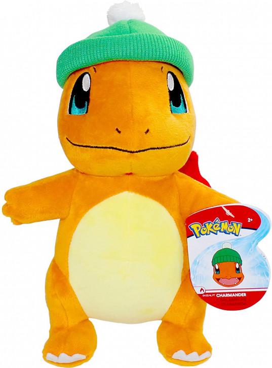 Pokemon - Glumanda Winter Edition - Plüschtier