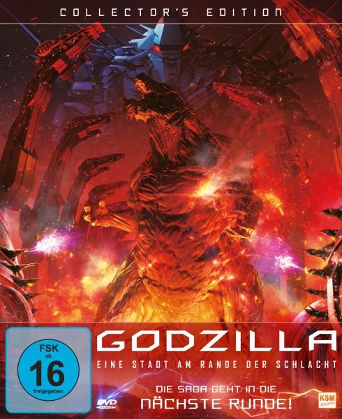 Godzilla: Eine Stadt am Rande der Schlacht - Collector's Edition [DVD]