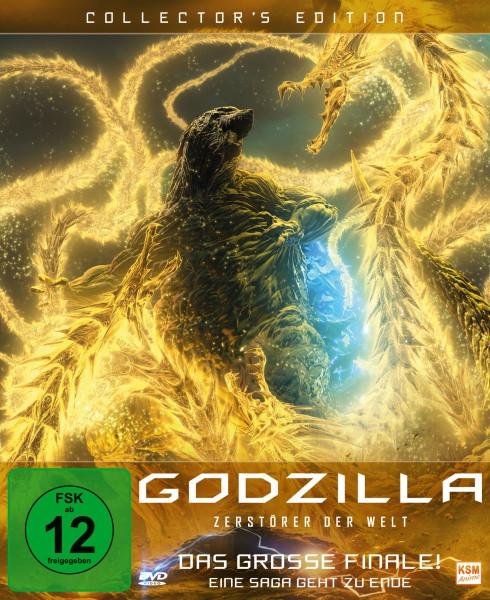 Godzilla: Zerstörer der Welt - Collector's Edition [DVD]