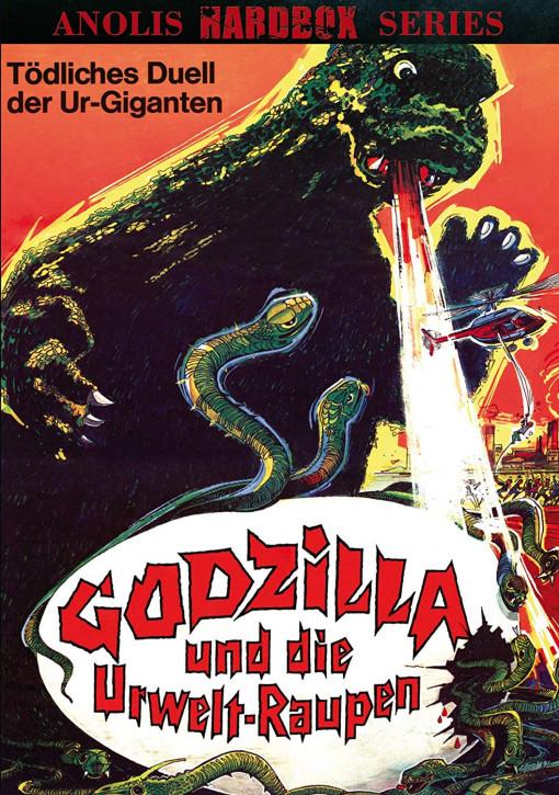 Godzilla und die Urweltraupen - Anolis Hardbox Series 22 - Cover A [DVD]
